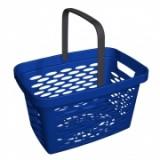 Корзина покупательская пластиковая 27л