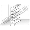 BRG SL пристенный фриз 2350*910*600мм